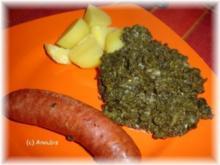 Hauptgericht deftig - Grünkohl nach Mudders Art - Rezept