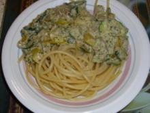 Maccaroni mit Thunfischsauce - Rezept