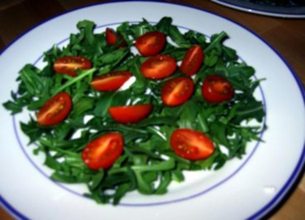 Fruchtiger Salat mit Hähnchenbruststreifen - Rezept - Bild Nr. 6