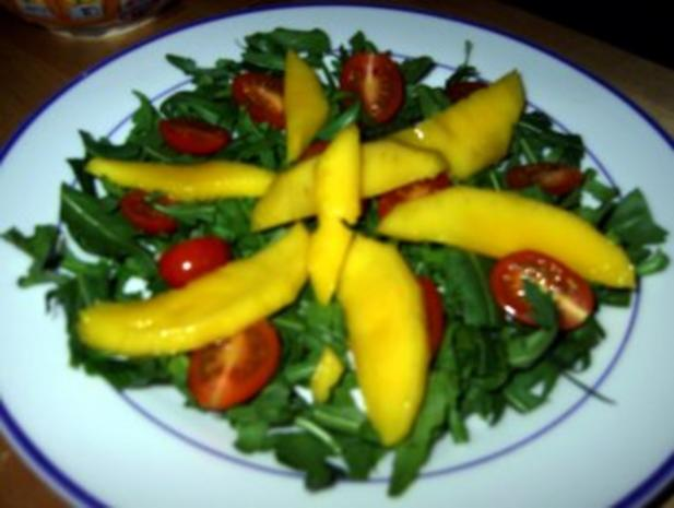 Fruchtiger Salat mit Hähnchenbruststreifen - Rezept - Bild Nr. 7