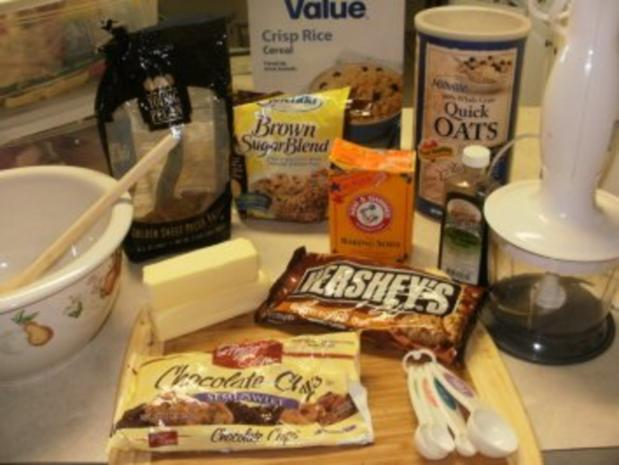 Gebaeck- Amerikanisches Gebaeck mit gesunden Zutaten und auch andere leckeren Sachen - Rezept - Bild Nr. 2