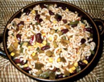 Nudelsalat Chili sind Carne - Rezept