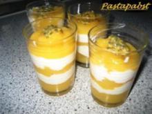 Maracuja - Vanille - Creme - Rezept