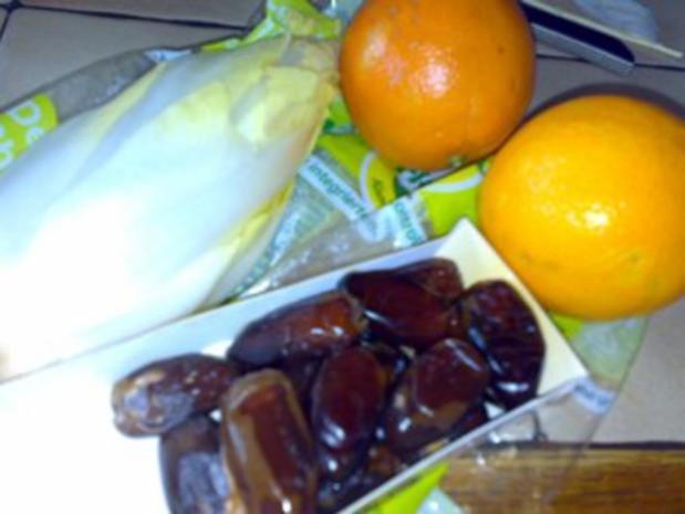 Salat: Chicoree oriental - Rezept