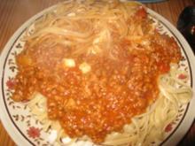 Spaghetti Diabolo mit Chilischoten und frische Tomaten - Rezept