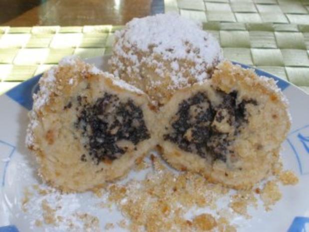 Dessert - Topfenknödel mit Mohn - Apfel - Fülle - Rezept - Bild Nr. 2