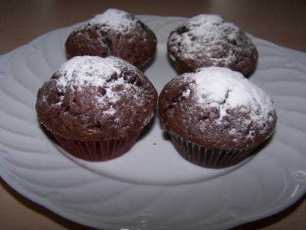 allround muffins schoko rezept mit bild. Black Bedroom Furniture Sets. Home Design Ideas