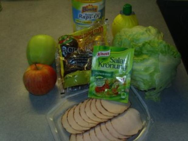 Salate: Apfel-Rote Bete-Salat - Rezept - Bild Nr. 2