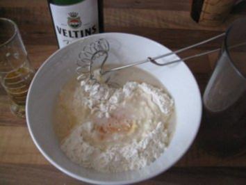 Chili - Knoblauch - Backteig - Rezept