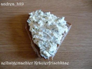 Selbstgemachter Kräuterfrischkäse - Rezept