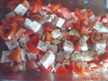 Ziegenkäse mit Tomaten - Rezept