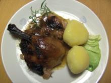 Geflügel/ Wild: Honig- Ente - Rezept
