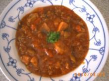 Bunte Fleischpfanne - Rezept