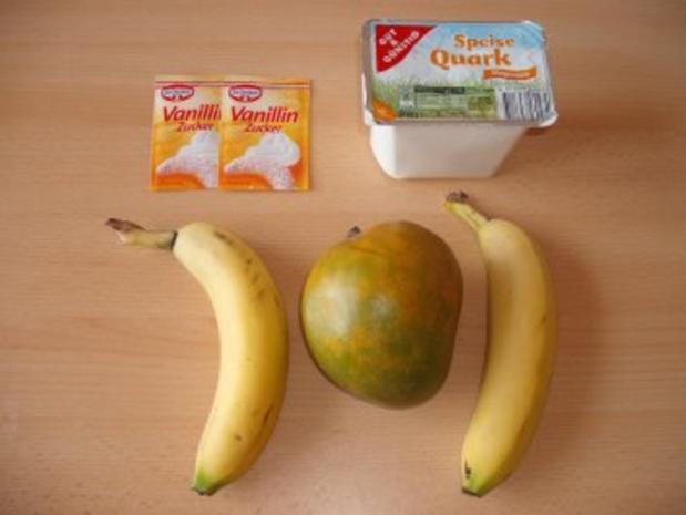 Bananen-Mango Quark - Rezept - Bild Nr. 2