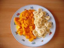 Bananen-Mango Quark - Rezept