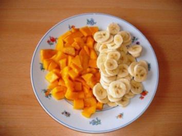 Rezept: Bananen-Mango Quark