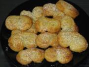 Schweinsöhrchen süss oder auch pikant ;.))))) - Rezept