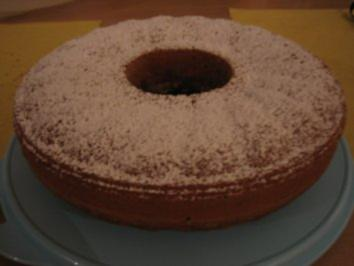 Schatzi´s Rotweinkuchen - Rezept