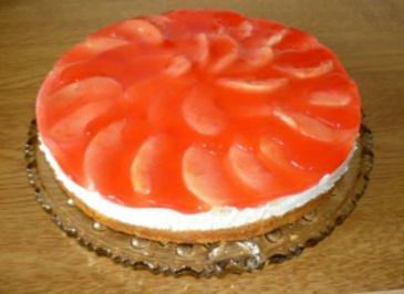 Apfel-Marzipan-Kuchen - Rezept