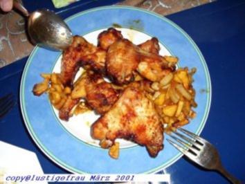 Hühnerflügele pikant - Rezept