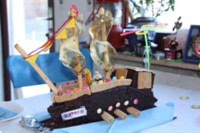 Piratenschiffkuchen Hat Viel Spass Gemacht Es Zu Backen Rezept
