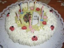 Torte: Kinder-Geburtstags-Torte - Rezept