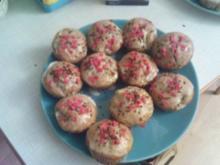 Ananas Muffins mit Mohn und Buttermilch - Rezept