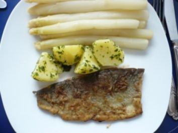 Forellenfilet mit Zitronensoße - Rezept