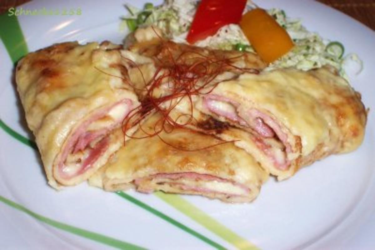Schinken Käse Pfannkuchen Rezept Mit Bild Kochbar De