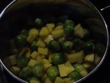 Cremiger Rosenkohltopf - Rezept