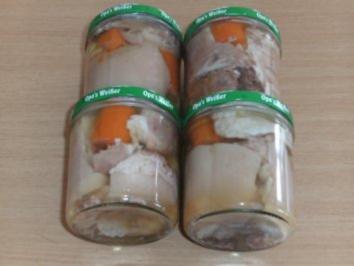 Rezept: Wursten: Eisbein im Glas