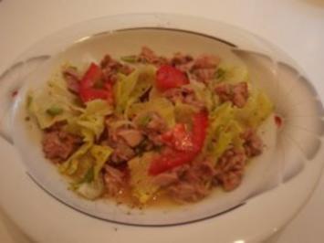 Salat: Salat mit Thunfisch - Rezept