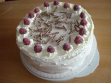 Himbeer-Erdbeer-Mascarpone-Torte - Rezept