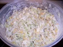 Salat...Porree-Mais-Salat - Rezept