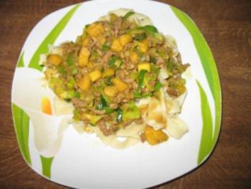 Schweine-Curry mit Mango - Rezept