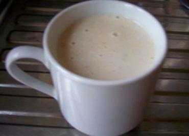 Getränk: Heiße Bananenmilch - Rezept