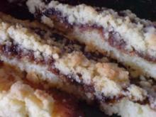 Streuselkuchen mit Pflaumenmus - Rezept