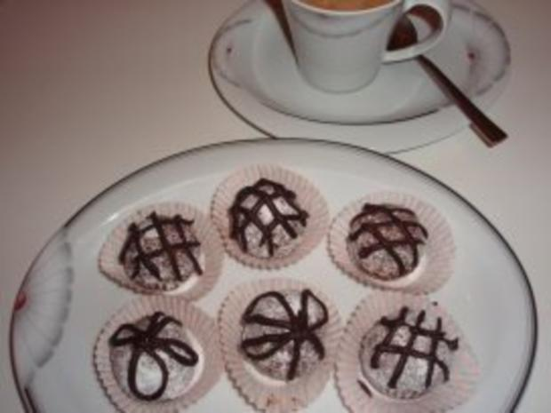 Kekse: Biskuit-Amarettini-Bällchen - Rezept