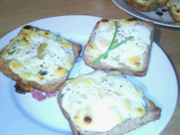 Welsh Toast - Rezept