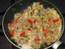 Gemüse-Hack-Reis-Pfanne - Rezept - Bild Nr. 2