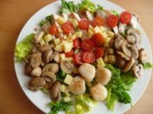 Salatteller zum Sattessen - Rezept