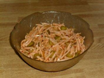 Pikanter Wurstsalat - Rezept