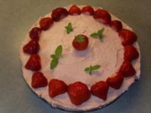 Kuchen+Torten: Philadelphia Torte -  Erdbeer - Rezept