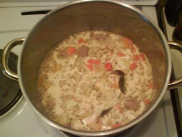 Suppe: Bunte Mettklößchensuppe - Rezept - Bild Nr. 2