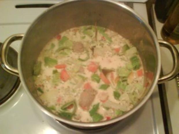 Suppe: Bunte Mettklößchensuppe - Rezept - Bild Nr. 3