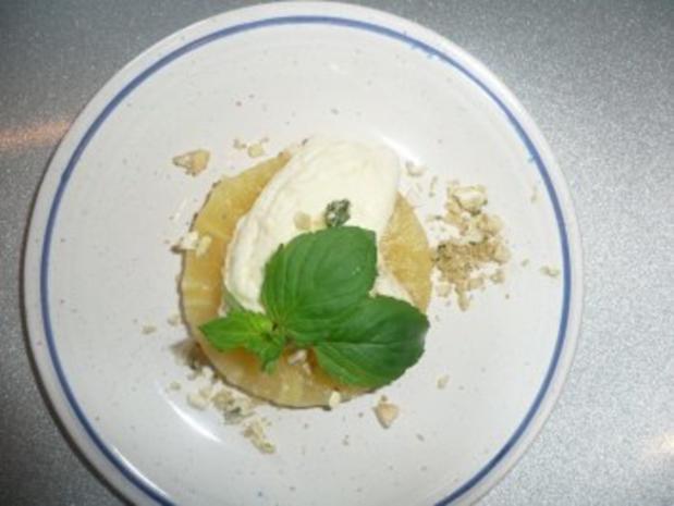 Orangenmousse auf gegrillter Ananas - Rezept - Bild Nr. 2
