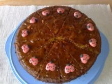 Rübli-Torte mit Aprikosen-Aroma - Rezept