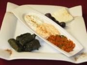 Türkische Vorspeisen-Variationen - Rezept