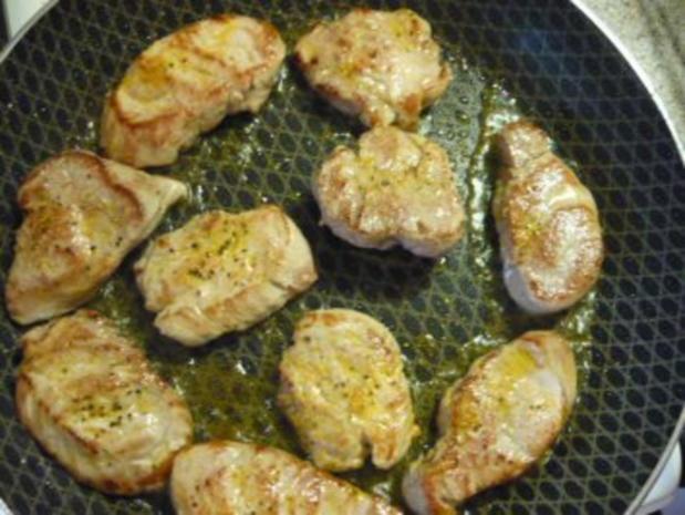 Schweinefilet mit Kümmelstampfkartoffeln und paniertem Blumenkohl - Rezept - Bild Nr. 6