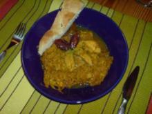 Asiatische Sauerkrautpfanne mit Curry - Rezept